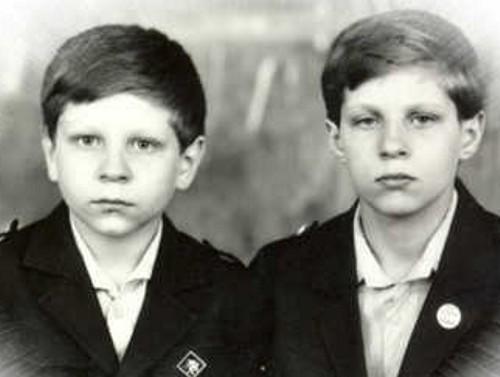 Федор и его брат в детстве